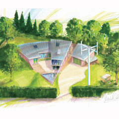 The Arc in Boxford building artists impression