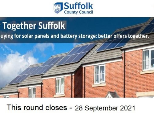 Don't miss out on SOLAR TOGETHER SUFFOLK