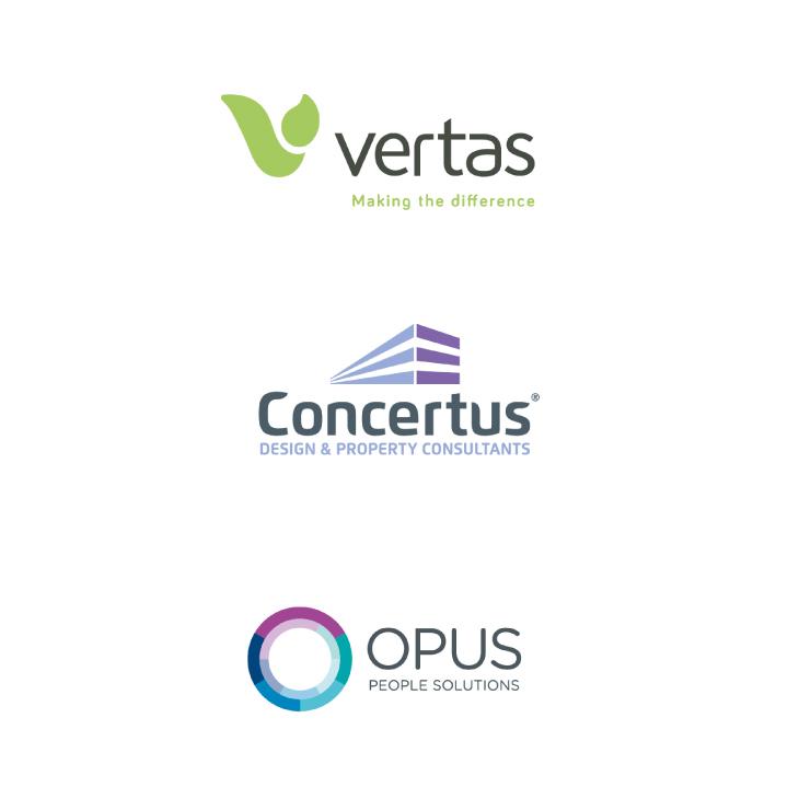 vertas, concertus and opus logo